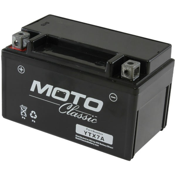 ytx7a moto classic battery ytx7a bs gtx7a bs. Black Bedroom Furniture Sets. Home Design Ideas